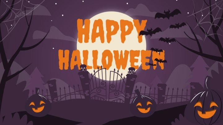 Happy Halloween presentation template