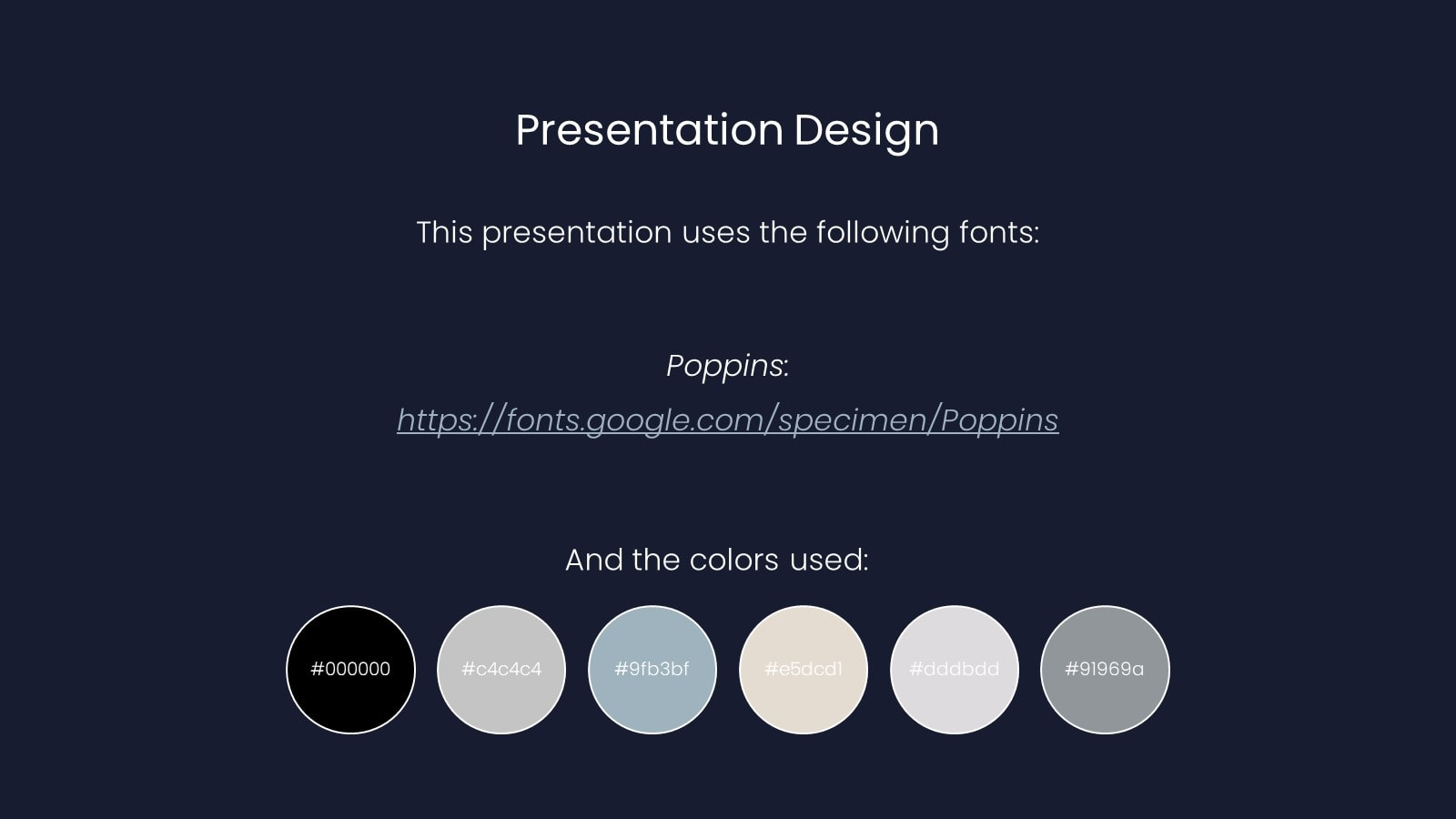 Minimal Marketing presentation template