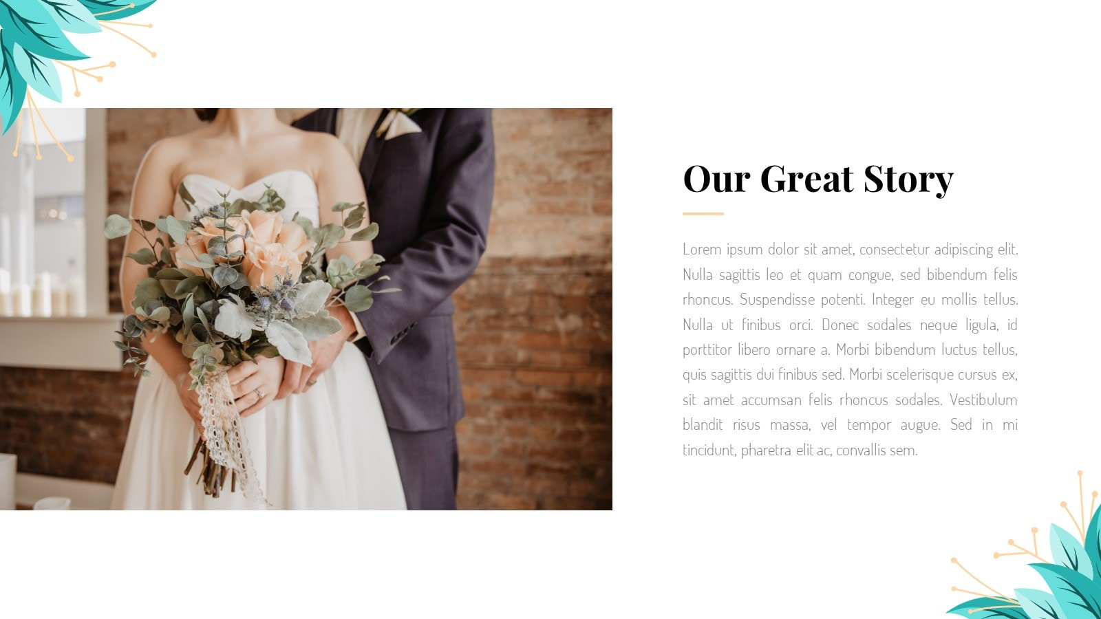 Wedding Plan presentationWedding Plan presentation template