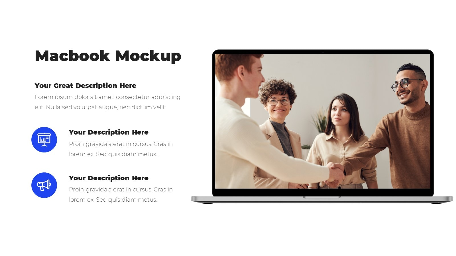Annual Company Meeting presentation template