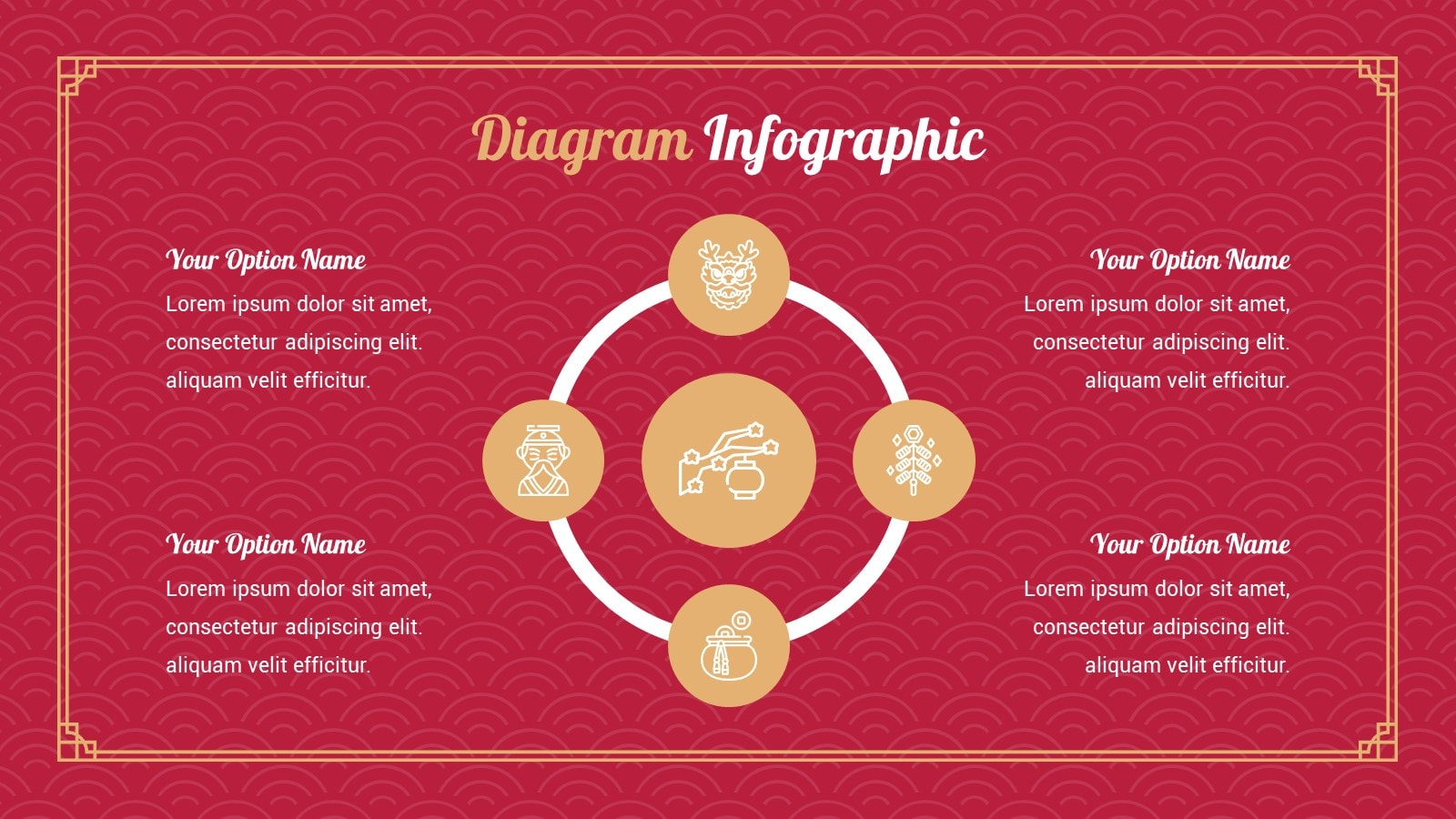 Year Of The Ox Marketing Plan presentation template